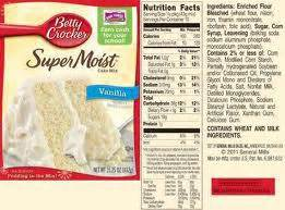 betty crocker cake mix change paperblog