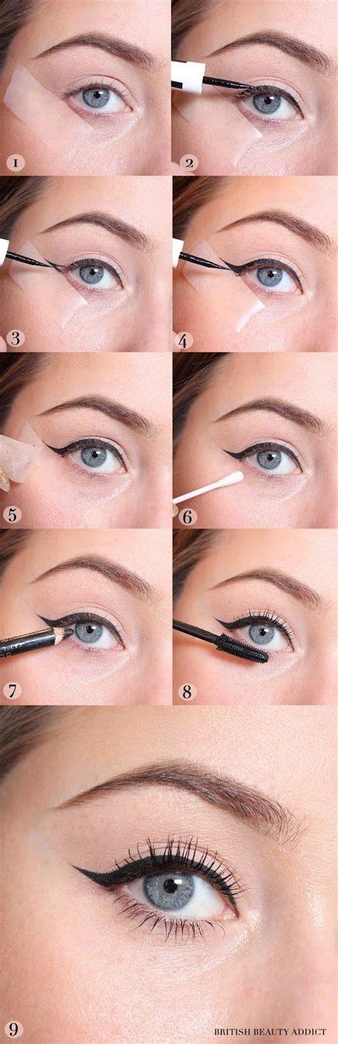 perfect winged eyeliner tutorial liquid best 25 eyeliner wing ideas on pinterest perfect