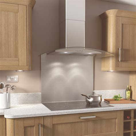Kitchen Backsplash Tiles kitchenplus curve stainless steel cooker hood stax trade
