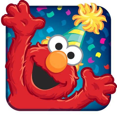 elmo birthday bash app icon mobile game ui elmo birthday elmo party elmo cake