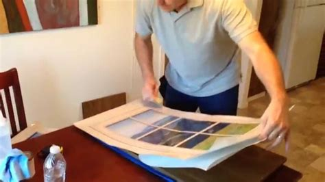how to wrap a cabinet door rm wraps youtube