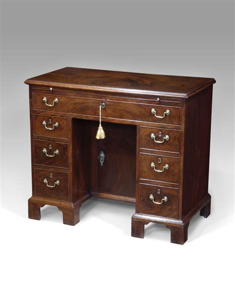 antique kneehole desk small antique desk bureau and