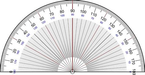 printable geometry protractor file protractor rapporteur degrees v3 jpg wikipedia