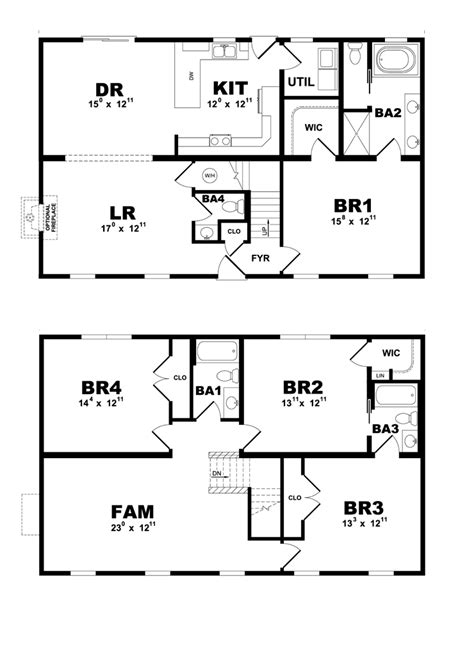 fort cbell housing floor plans bellmeade modular home floor plan