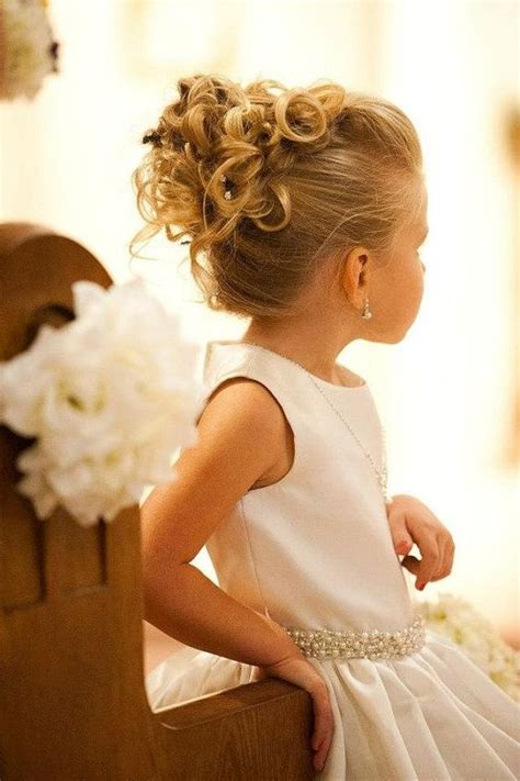 wedding hair how to hold curls in dominican republic 35 cute fancy flower girl hairstyles for every wedding