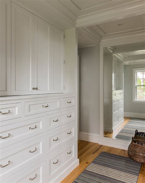 Closet Built Ins by Benjamin Abalone Vs Revere Pewter Brown Hairs