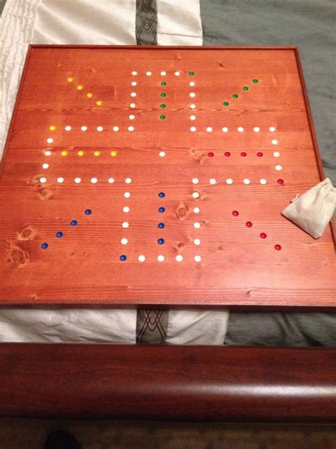 wahoo board template four player wahoo board 24 quot x24 quot wood crafting