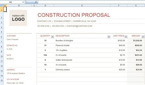 Construction Bid Template Archives Onlinenewsvenue For Architects Construction Bid Template