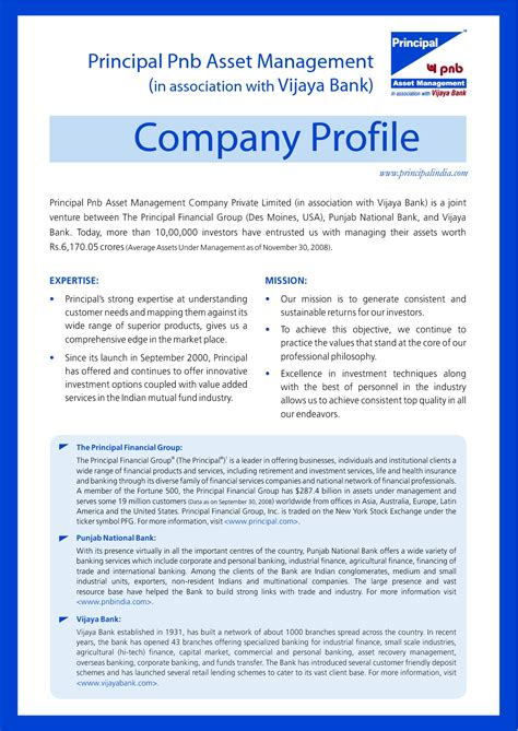 business profile word template company profile format it resume cover letter sle
