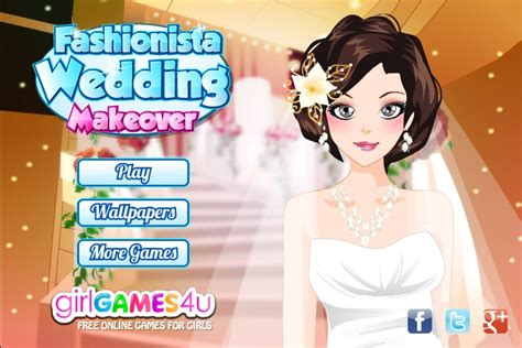 fashionista wedding makeover game games for girls