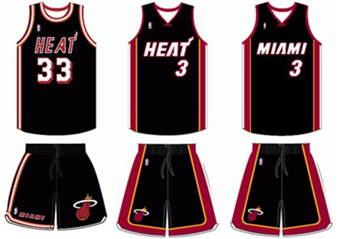 jersey design miami heat miami heat uniform history bluelefant