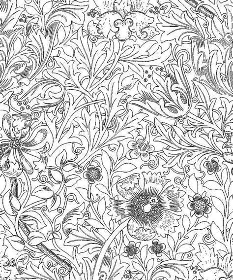 Adult Coloring William Morris ウィリアム モリスの塗り絵 Art Etc William Morris Colouring Pages