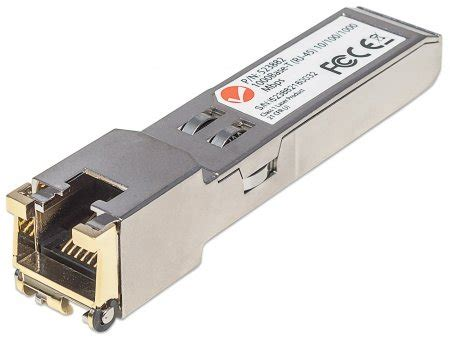 what is a port intellinet network solutions gigabit rj45 copper sfp