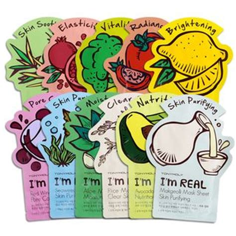 Tonymoly I M Real Mask Sheet 100 Ori By Tony Moly Kr buy tony moly i m real mask sheet 1pc yesstyle