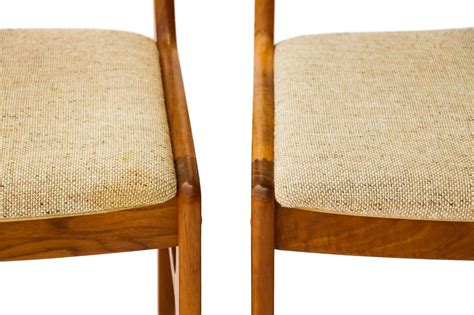 vintage dining chairs vintage d scan teak dining chairs four