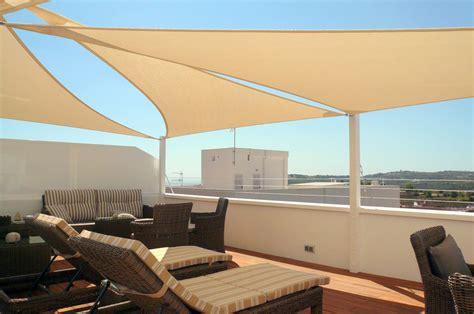 Triangular Patio Awnings Shade Sails Valencia Garden Sun Shades For Spain