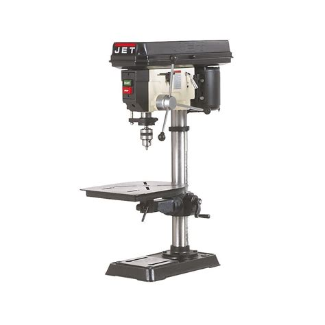 bench mount drill press jet jdp 15m 15 in bench mount drill press ebay