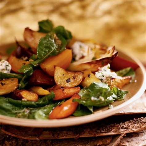roasted root vegetable recipes with honey honey roasted root vegetable salad recipe michael romano