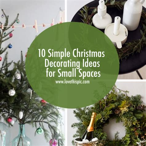10 holiday decorating ideas for small spaces hgtv 10 simple christmas decorating ideas for small spaces