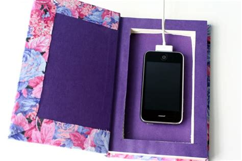 diy wireless phone charging station 25 organization ideas for the home