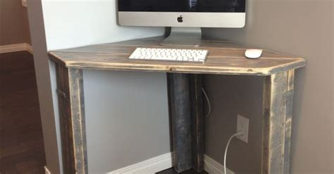 Rustic Corner Desk Rustic Corner Desk Office Guest Room Furniture Makeovers Office Guest Rooms