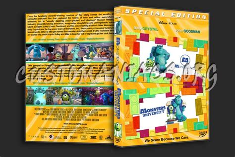 we read leemos collection monsters inc monsters university double dvd cover dvd covers labels by customaniacs id