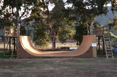 backyard halfpipe for sale 8 ft high x 24 ft wide halfpipe with marine