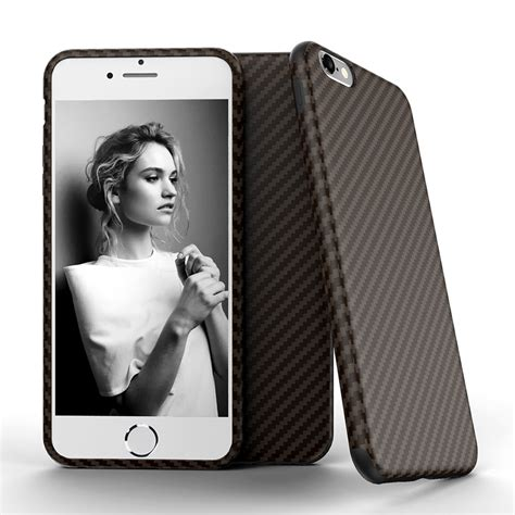 Anti Knock anti knock carbon fiber softcase protector for iphone 7