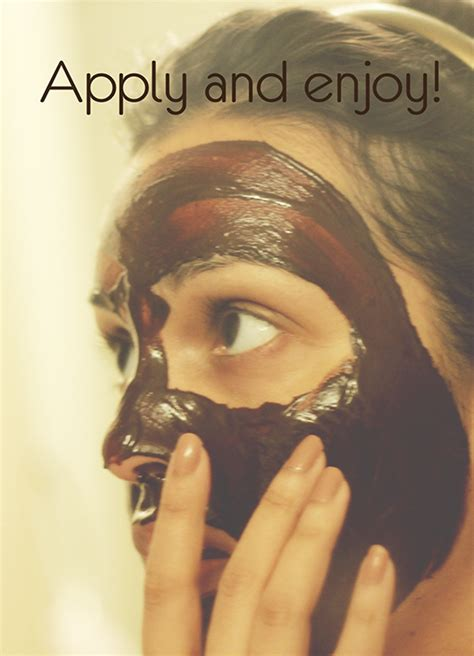 chocolate mask diy diy chocolate yogurt mask chronicles of a