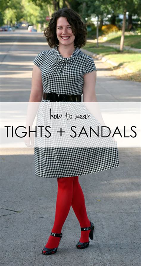how to wear sandals reader request tights and sandals already pretty