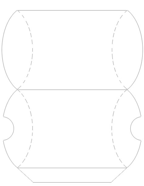 pillow templates pillow box template cake ideas and designs