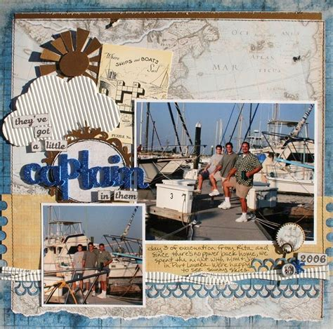scrapbook layout travel boating travel scrapbook layout scrapbook france