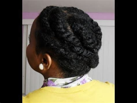 flat twist protective hairstyle  natural hair simplyounique youtube