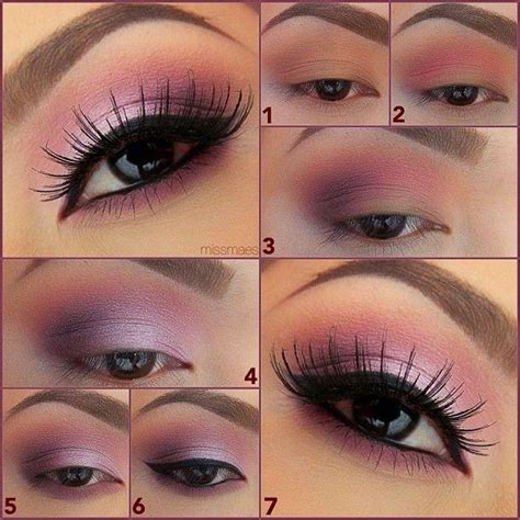 Eyeshadow Soft soft pink makeup look mugeek vidalondon