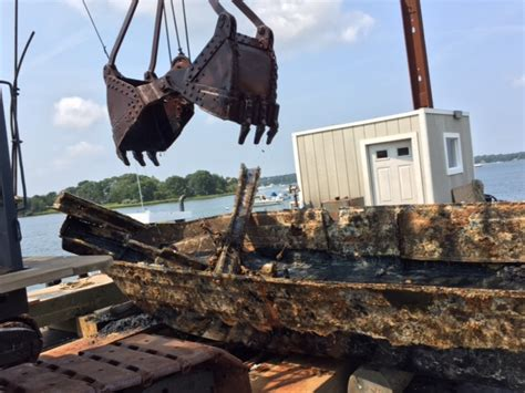 the boat north bay north bay osterville boat salvage beacon marine construction