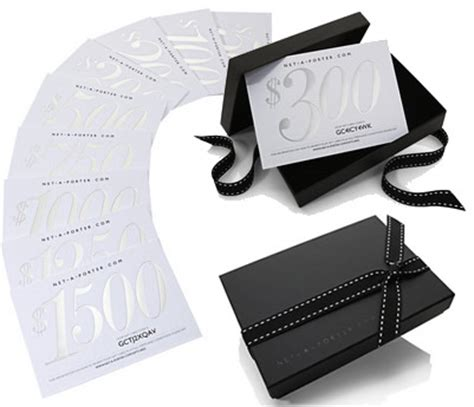 New From Net A Porter by The Net A Porter Giftcard Has Finally Arrived Purseblog