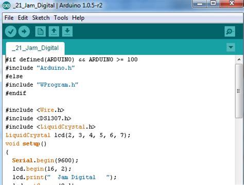 membuat jam digital dengan arduino uno r3 cara membuat jam digital dengan arduino ilmu itu indah