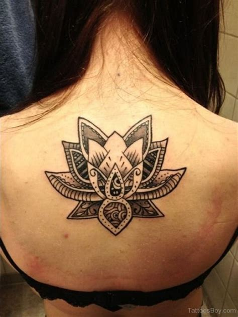 black and white tribal tattoos 70 best lotus flower design ideas