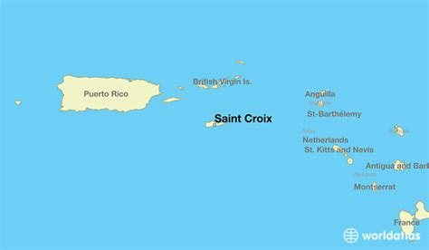 st croix location world map where is croix u s islands where is