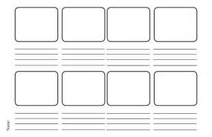 Storyboard Outline Template by And Design