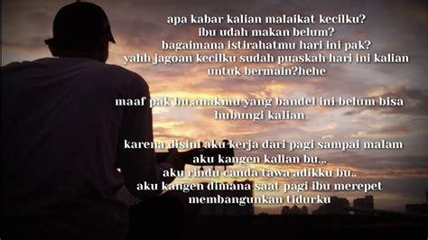 Quotes Rindu Ayah Ibu