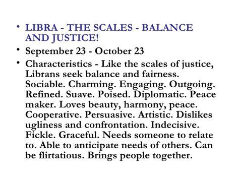 characteristics libra