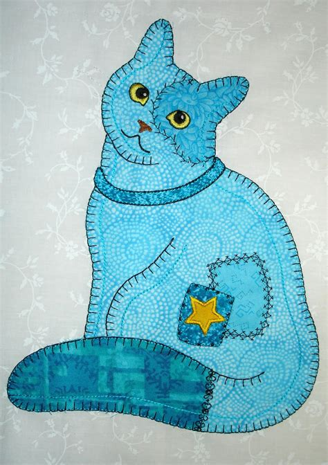 patterns for applique s awesome appliques more patch cats