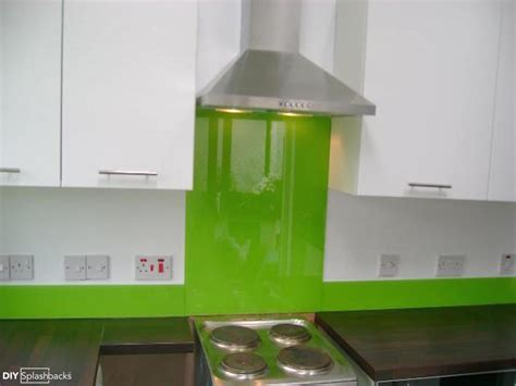 Kitchen Glass Upstands by Green And Blue Glass Splashbacks
