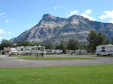 Cabins In Waterton National Park by Waterton Town Site Cground