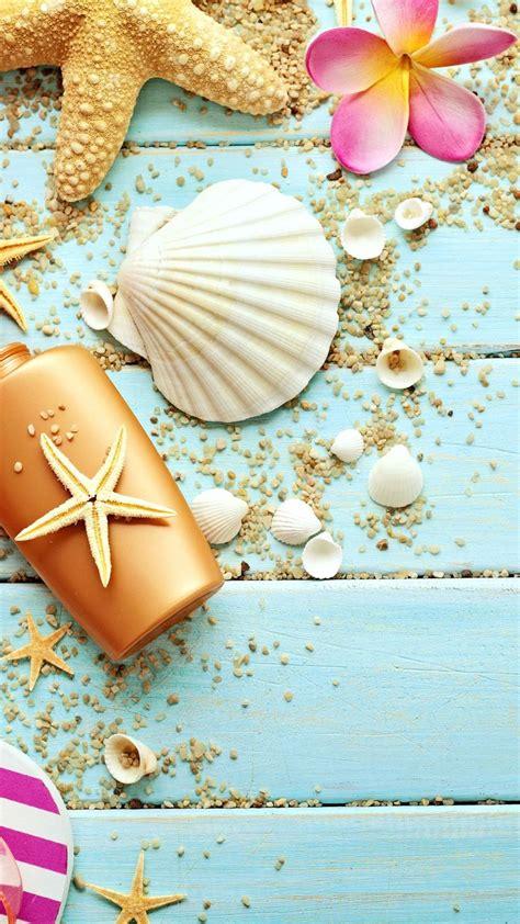 kawaii themes for iphone 6 plus blue wood seashells sea star iphone 6 plus hd wallpaper