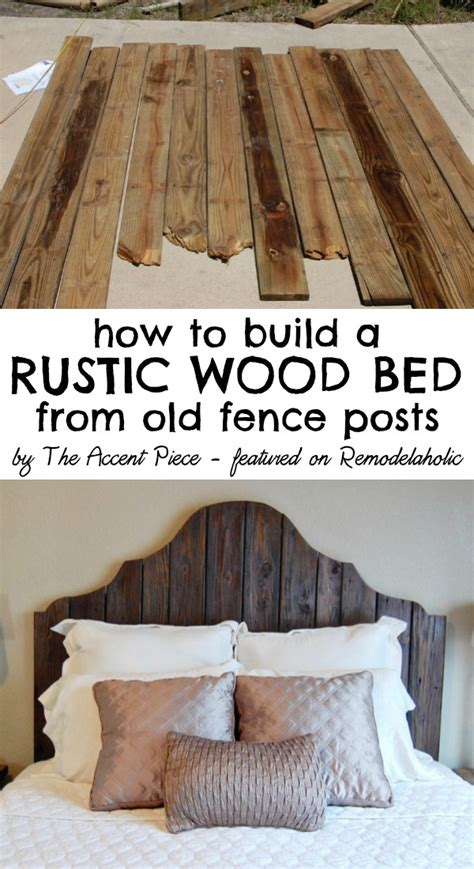how to build headboard remodelaholic curvy reclaimed wood headboard tutorial