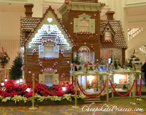 gingerbread houses can a cheapskate afford to stay at disney s grand floridian resort during holiday