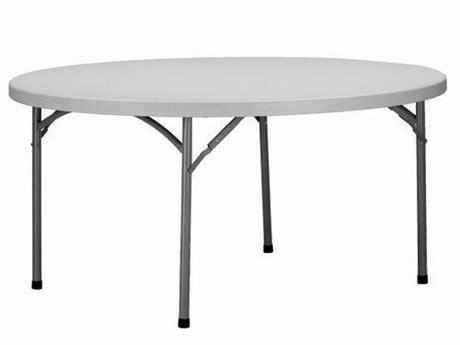 metro fr table de r 233 ception pliante ronde 150 cm