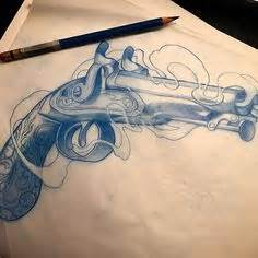 tattoo goo toronto army gun pistol clipart panda free clipart images